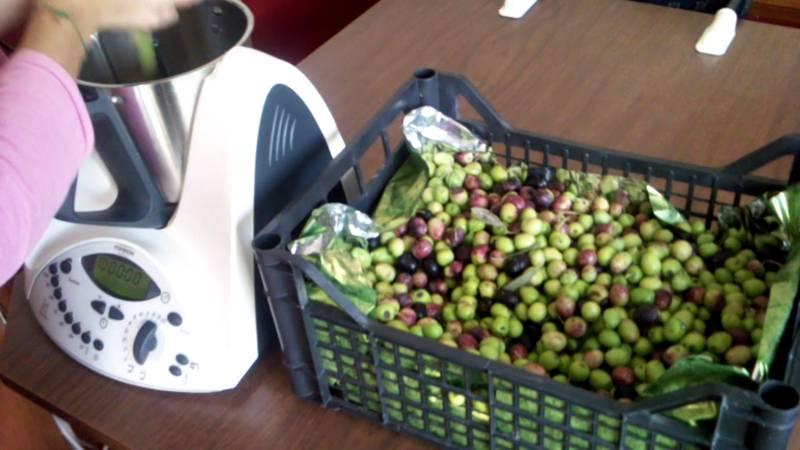 Foto olive nel Bimby