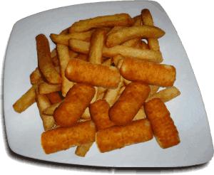 frittura con olio