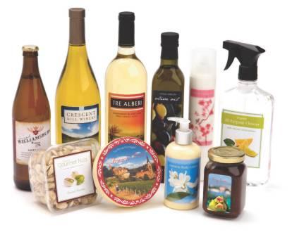 etichette prodotti