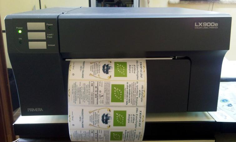 stampante etichette a colori