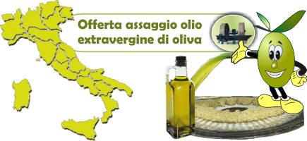 offerta assaggio olio extravergine
