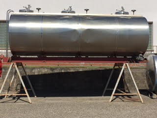 Vendo cisterne per trasporto olio/liquidi alimentari.