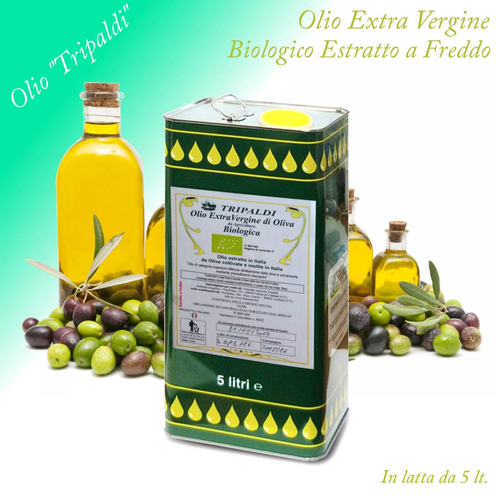Vendita di olio extravergine biologico