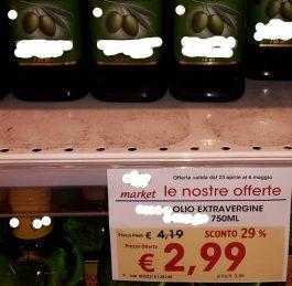 FALSO OLIO 100% ITALIANO