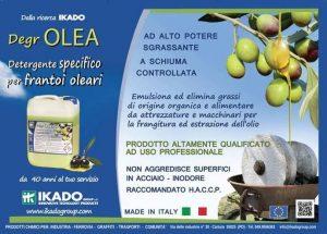 detergente specifico per il settore oleario