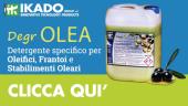 DegrOLEA – Detergente specifico per Oleifici, Frantoi e Stabilimenti Oleari