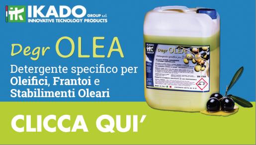 Detergente specifico per oleifici, Frantoi e Stabilimenti Oleari