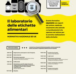 Il laboratorio delle etichette alimentari