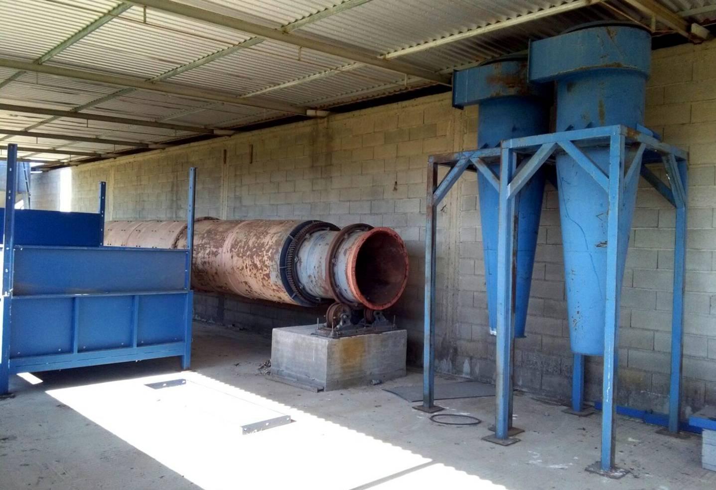 vendo impianto essiccazione sansa usato produzione 20 qli