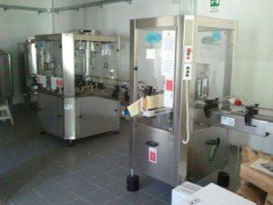 Vendo Impianto Automatico d'imbottigliamento